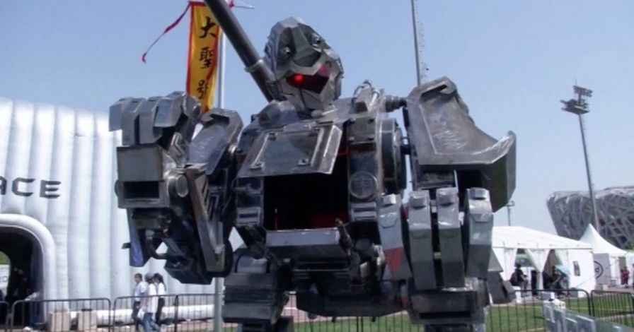 Chinese-inventors-unveil-new-gladiator-robot